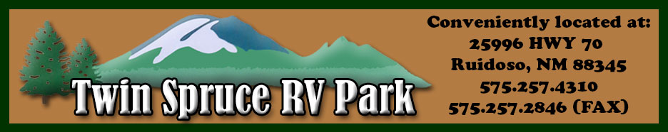 Twin Spruce RV Park - Ruidoso, New Mexico